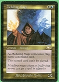 Magic the Gathering Planeshift Single Meddling Mage LIGHT PLAY (NM)