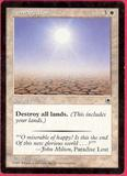 Magic the Gathering Portal 1 Single Armageddon - SLIGHT PLAY (SP)