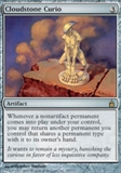Magic the Gathering Ravnica Single Cloudstone Curio Foil