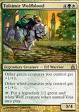 Magic the Gathering Ravnica Single Tolsimir Wolfblood UNPLAYED (NM/MT)