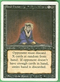 Magic the Gathering 3rd Ed (Revised) Single Mind Twist - SLIGHT PLAY (SP)