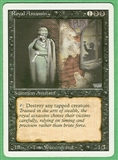 Magic the Gathering 3rd Ed (Revised) Single Royal Assassin - SLIGHT PLAY (SP)