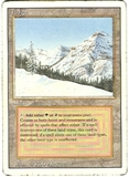 Magic the Gathering 3rd Ed (Revised) Single Taiga MODERATE PLAY (VG/EX)