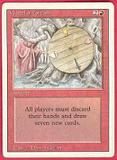 Magic the Gathering 3rd Ed (Revised) Single Wheel of Fortune - MODERATE PLAY (MP)
