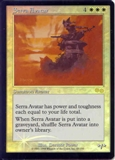 Magic the Gathering Urza's Saga Single Serra Avatar Foil (JSS Promo)