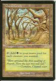 Magic the Gathering Urza's Saga Single Gaea's Cradle - SLIGHT PLAY (SP)