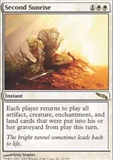 Magic the Gathering Mirrodin Single Second Sunrise - SLIGHT PLAY (SP)