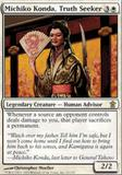 Magic the Gathering Saviors of Kami Single Michiko Konda, Truth Seeker - NEAR MINT (NM)