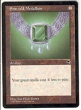 Magic the Gathering Tempest Single Emerald Medallion UNPLAYED (NM/MT)
