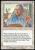 Magic the Gathering Urza's Destiny Single Academy Rector Foil