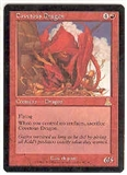 Magic the Gathering Urza's Destiny Single Covetous Dragon LIGHT PLAY (NM)