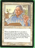 Magic the Gathering Urza's Destiny Single Academy Rector SLIGHT PLAY (SP)