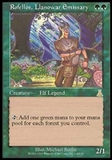 Magic the Gathering Urza's Destiny Single Rofellos, Llanowar Emissary - NEAR MINT (NM)