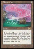 Magic the Gathering Urza's Legacy Single Memory Jar UNPLAYED (NM/MT)