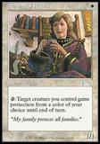 Magic the Gathering Urza's Legacy Single Mother of Runes - SLIGHT PLAY (SP)