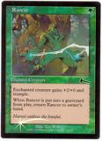 Magic the Gathering Urza's Legacy Single Rancor FOIL