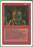 Magic the Gathering Unlimited Single Goblin King UNPLAYED (NM/MT)