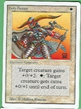 Magic the Gathering Unlimited Singles 4x Holy Armor UNPLAYED (NM/MT)
