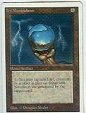 Magic the Gathering Unlimited Single Icy Manipulator - MODERATE PLAY (MP)