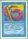 Magic the Gathering Unlimited Single Lord of Atlantis - SLIGHT PLAY (SP)