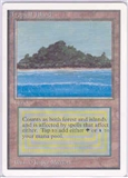 Magic the Gathering Unlimited Single Tropical Island UNPLAYED (NM/MT)