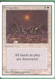 Magic the Gathering Unlimited Single Armageddon UNPLAYED (NM/MT)