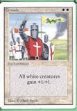 Magic the Gathering Unlimited Single Crusade - NEAR MINT (NM)