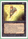Magic the Gathering Unlimited Single Nightmare UNPLAYED (NM/MT)