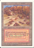 Magic the Gathering Unlimited Single Plateau - SLIGHT PLAY (SP)