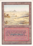 Magic the Gathering Unlimited Single Badlands UNPLAYED (NM/MT)