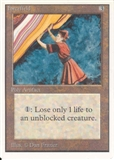 Magic the Gathering Unlimited Single Forcefield UNPLAYED (NM/MT)