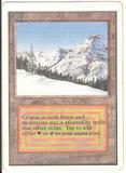 Magic the Gathering Unlimited Single Taiga LIGHT PLAY (NM)