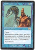 Magic the Gathering Urza's Saga Single Gilded Drake UNPLAYED (NM/MT)