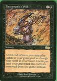 Magic the Gathering Urza's Saga Single Yawgmoth's Will - MODERATE PLAY (MP)
