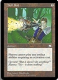 Magic the Gathering Weatherlight Single Null Rod UNPLAYED (NM/MT)