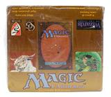 Magic the Gathering Italian Revised White Bordered Starter Deck Box - EX Box, NM Packs