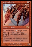 Magic the Gathering Legions Single Magma Sliver - MODERATE PLAY (MP)