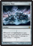 Magic the Gathering Mirrodin Besieged Single Magnetic Mine 4x Lot - NEAR MINT (NM)