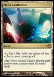 Magic the Gathering Journey into Nyx Single Mana Confluence FOIL - SLIGHT PLAY