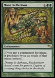 Magic the Gathering Shadowmoor Single Mana Reflection Foil