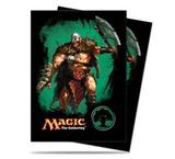 Ultra Pro Magic Green Mana Garruk Standard Sized Deck Protectors (Case of 6000 Sleeves)