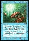 Magic the Gathering Legends Single Mana Drain - NEAR MINT / SLIGHT PLAY (NM/SP)