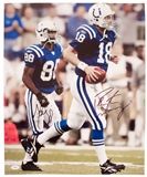 Peyton Manning & Marvin Harrison Autographed Indianapolis Colts 16x20 Photo (JSA)