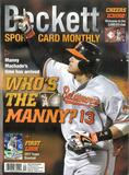 2016 Beckett Sports Card Monthly Price Guide (#379 October) (Manny Machado)