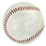 Mickey Mantle Autographed New York Yankees American League Baseball (Personalized)
