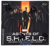 Marvel Agents of S.H.I.E.L.D. Season One Trading Cards Box (Rittenhouse 2015)