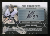 2012/13 In the Game Between The Pipes Autographs #AEM Etienne Marcoux Autograph