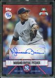 2016 Topps Baseball Hawaii Summit Exclusive Mariano Rivera Autograph 4/10