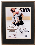 Mario Lemieux Autographed Pittsburgh Penguins Framed 8x10 Photograph (Steiner)