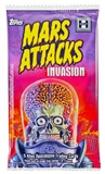 Mars Attacks Invasion Trading Cards Pack (Topps 2013)